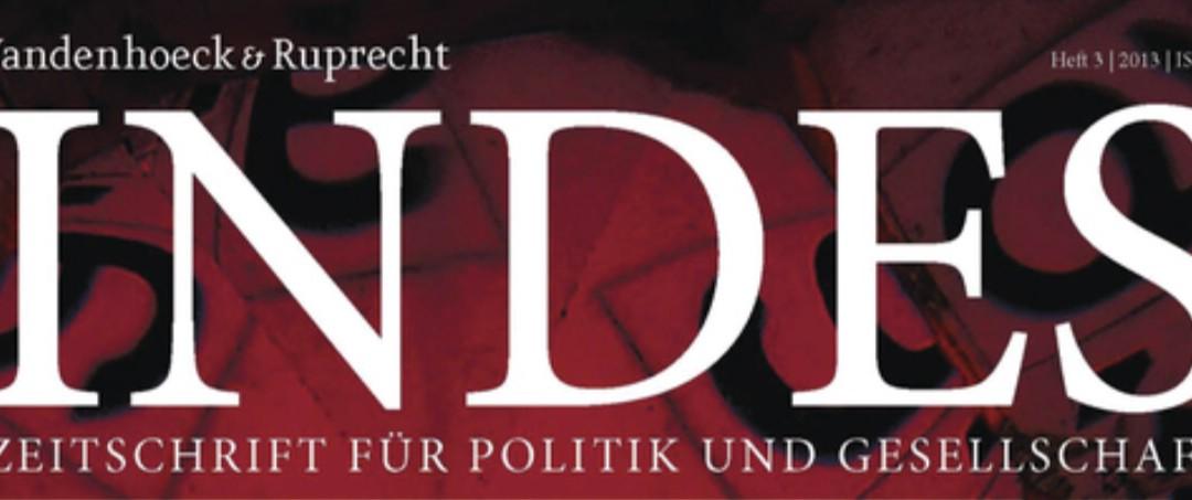 """Bassam Tibi über den Arabischen Frühling in """"INDES – Zeitschrift für Politik und Gesellschaft"""""""