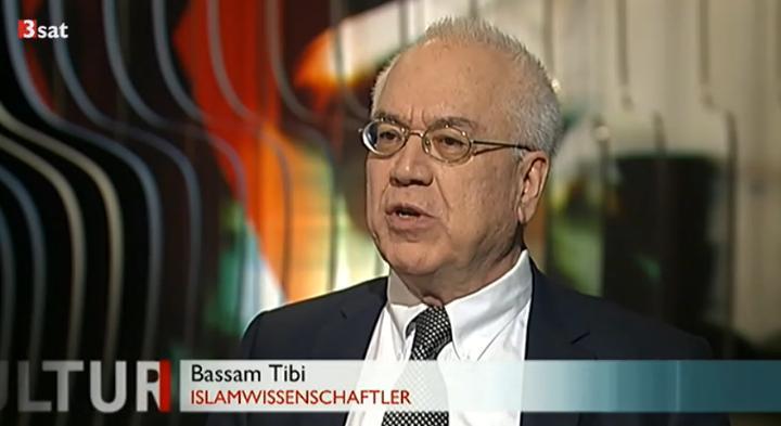 """Bassam Tibi im Interview in der Sendung """"Kulturzeit"""" (3sat)"""