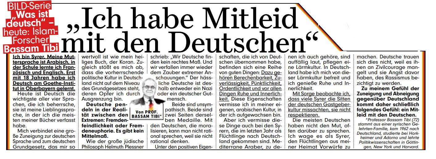 Mitleid-Deutschen-Tibi