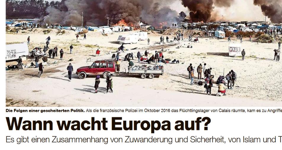 Artikel von Bassam Tibi in der Basler Zeitung über unregulierte Zuwanderung und Sicherheit