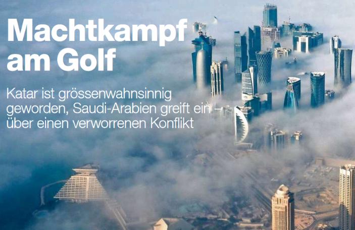 Zwei Artikel über Katar und den innerarabischen Konflikt am Golf erschienen